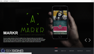 Description of the Markr application for Six Sigma Mobile.